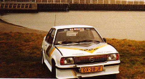 De Opel Ascona van Jack